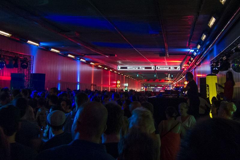 Munchen Tunnel Party - Sisteme de sonorizare Kling & Freitag
