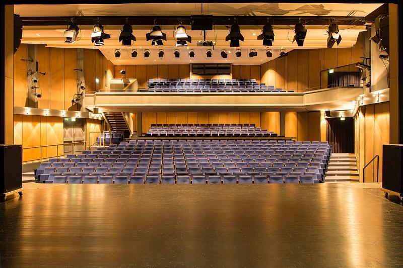 Sisteme de sonorizare pentru teatru Kling & Freitag - vedere scena