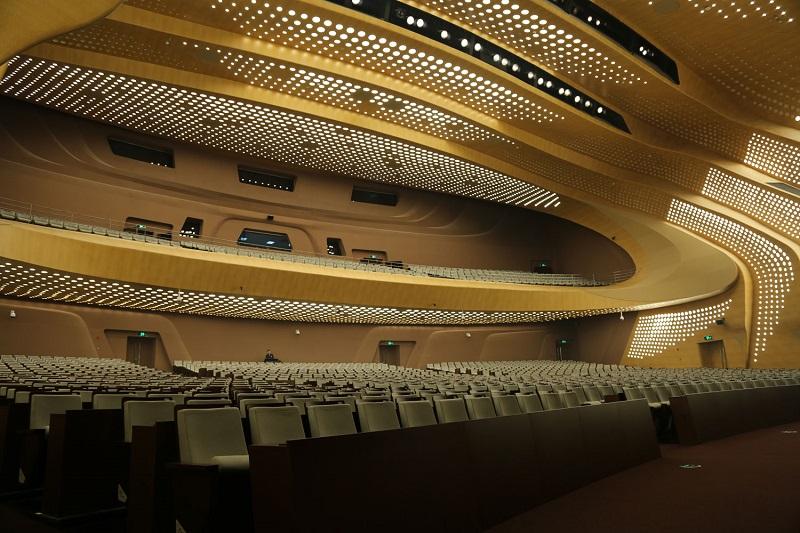 Sisteme de sonorizare pentru teatru Kling & Freitag - Teatrul Nanjing